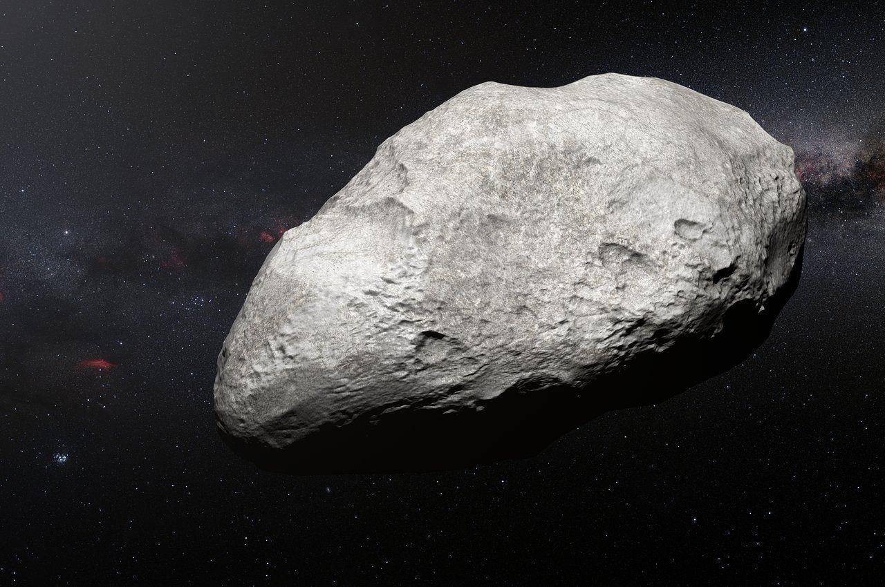 """На окраинах Солнечной системы обнаружен астероид """"из центра"""""""
