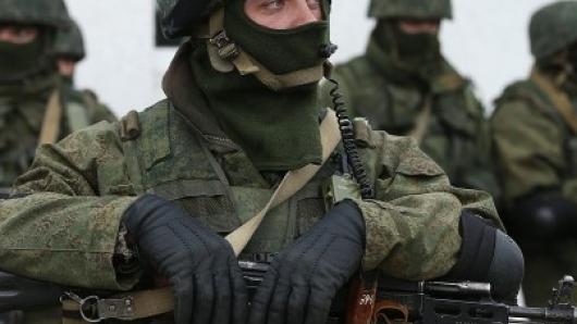 Вооруженные люди на Керченск…