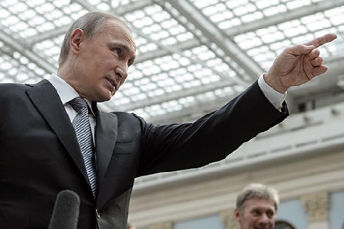 Путин назвал число выявленных в России агентов иностранных разведок