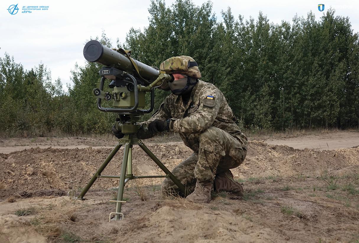 Поставки противотанковых ракетных комплексов «Стугна-П» и «Корсар» вооруженным силам Украины