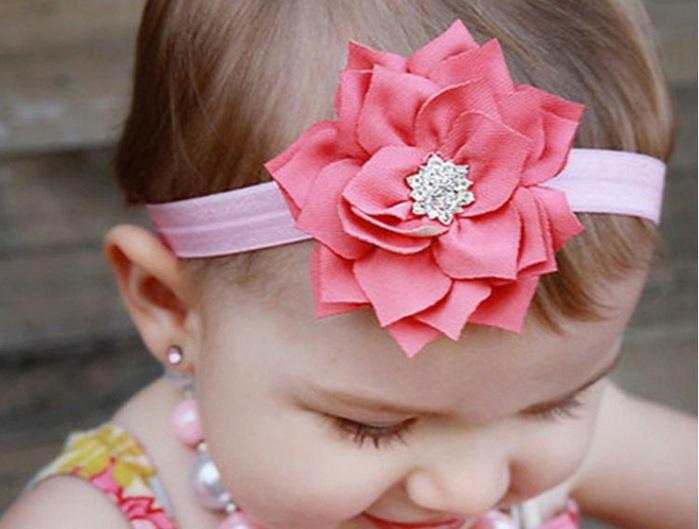 Повязка для волос для девочек своими руками