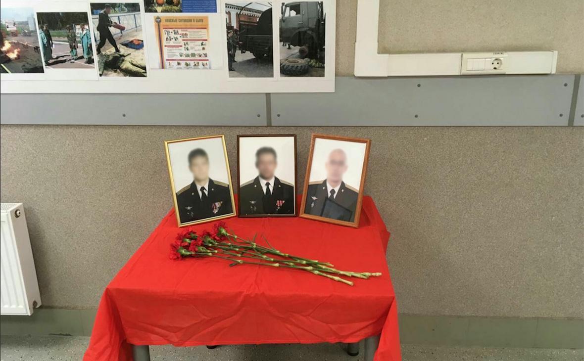 РБК публикует фото погибших в Сирии военных