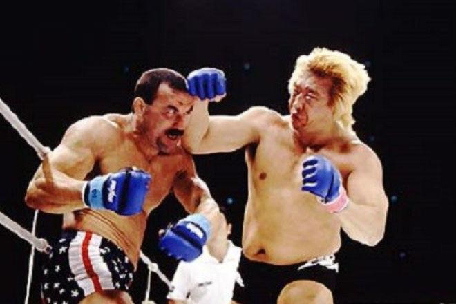 Боец ММА вышел против японского гиганта