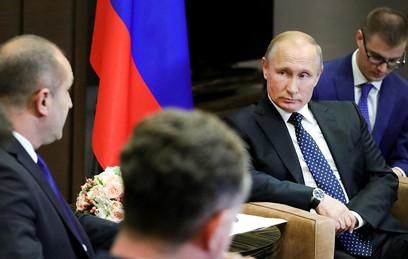 Путин сообщил о росте товарооборота между Россией и Болгарией