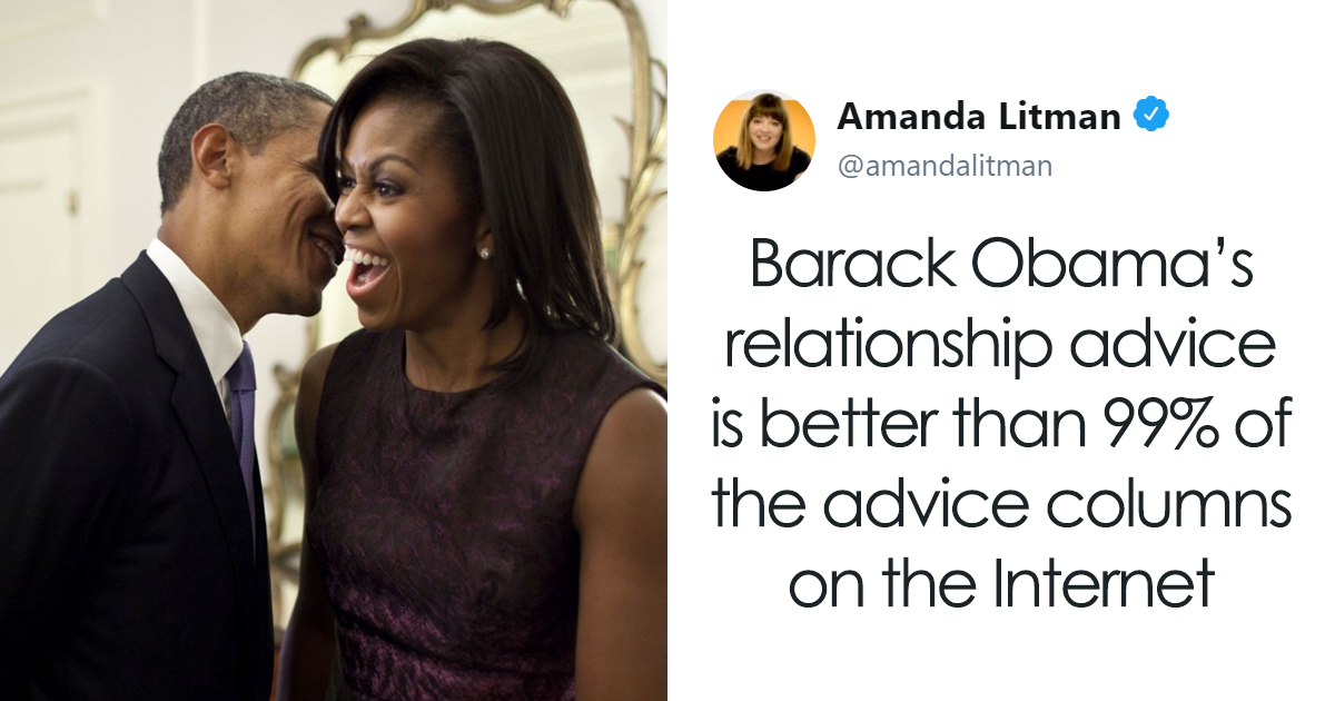 Barack Obama Once Gave A Relationship Advice, And It's 'Better Than 99% Of The Advice Columns On The Internet'