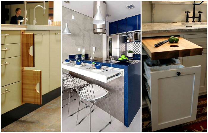 Гениальные идеи - «умная» современная мебель, которая освободит кучу места в крошечной квартире