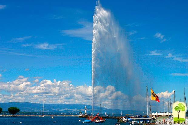 Фонтан Фахда - самый высокий фонтан в мире, Саудовская Аравия - 3