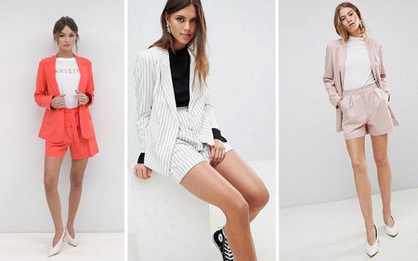 Костюм с шортами – стильный тренд лета 2018: как выбрать лучший