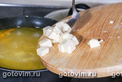 Сырный суп с кабачками, Шаг 03