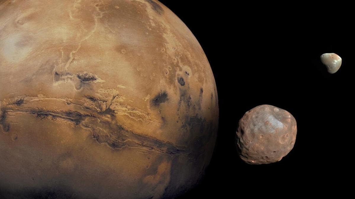 Фобос оказался обломком Марса, а не обычным астероидом