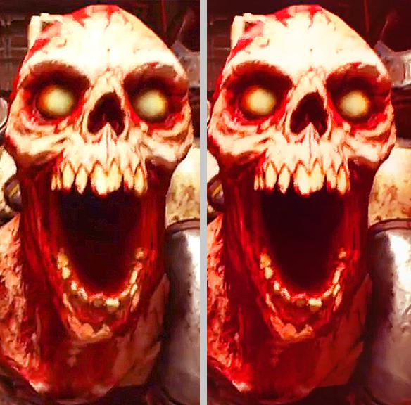Появилось сравнение PC-версии Doom на минимальных и на ультра-настройках графики