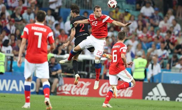 Путин оценил игру российских футболистов в матче 1/4 финала ЧМ