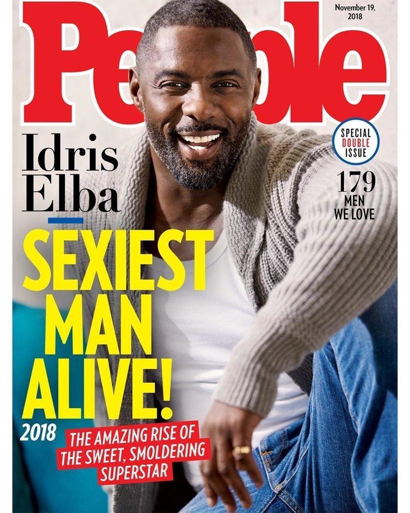 Самый сексуальный мужчина 2018 года — Идрис Эльба Идрис Эльба, актер, в мире, итоги, кино, люди, сексуальный, фильм