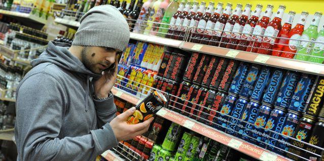 Минфин хочет запретить продажу алкогольных энергетиков