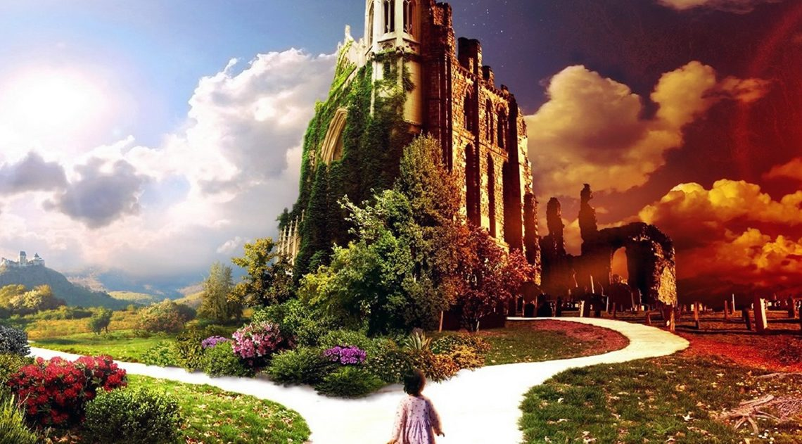 Мудрая притча о прощении. «Женщина на пороге Рая или Ада…»