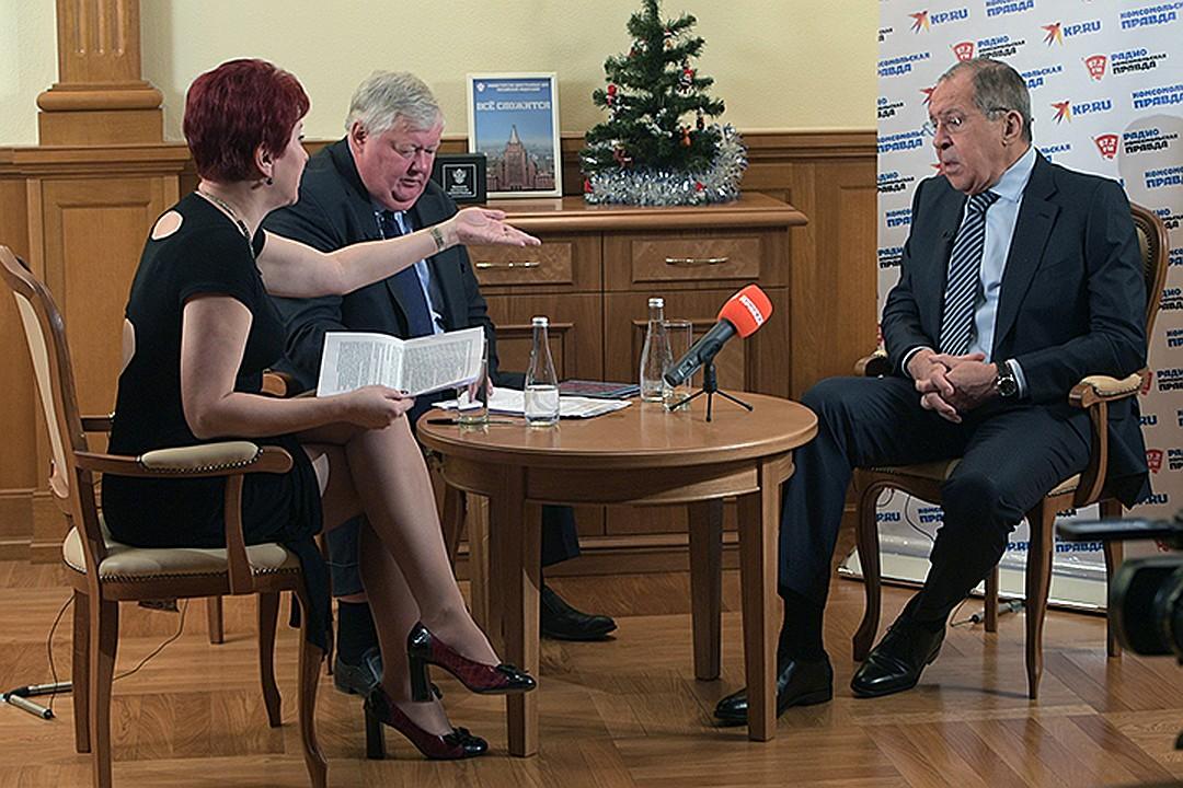 Интервью Лаврова: капитуляци…