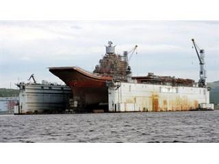 Авария ПД-50 оставила Россию без важнейших боевых кораблей