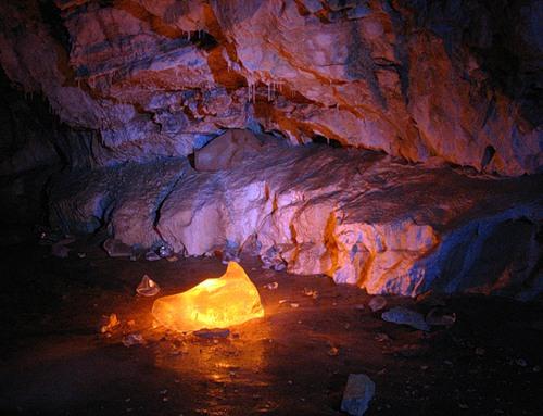 Фотографируем в пещере