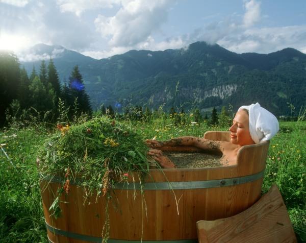 Лечебные ванны с лекарственными травами