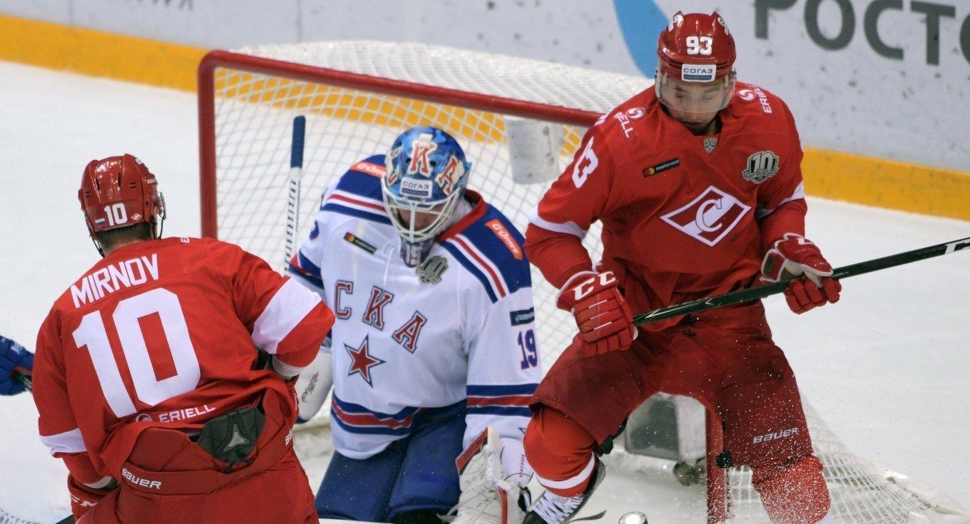 Как проходил матч Спартак – СКА в Петербурге?