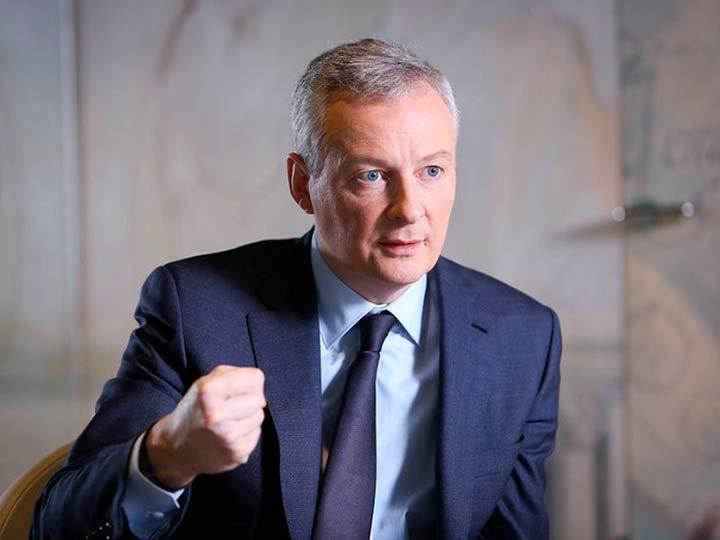 Министр экономики Франции об…