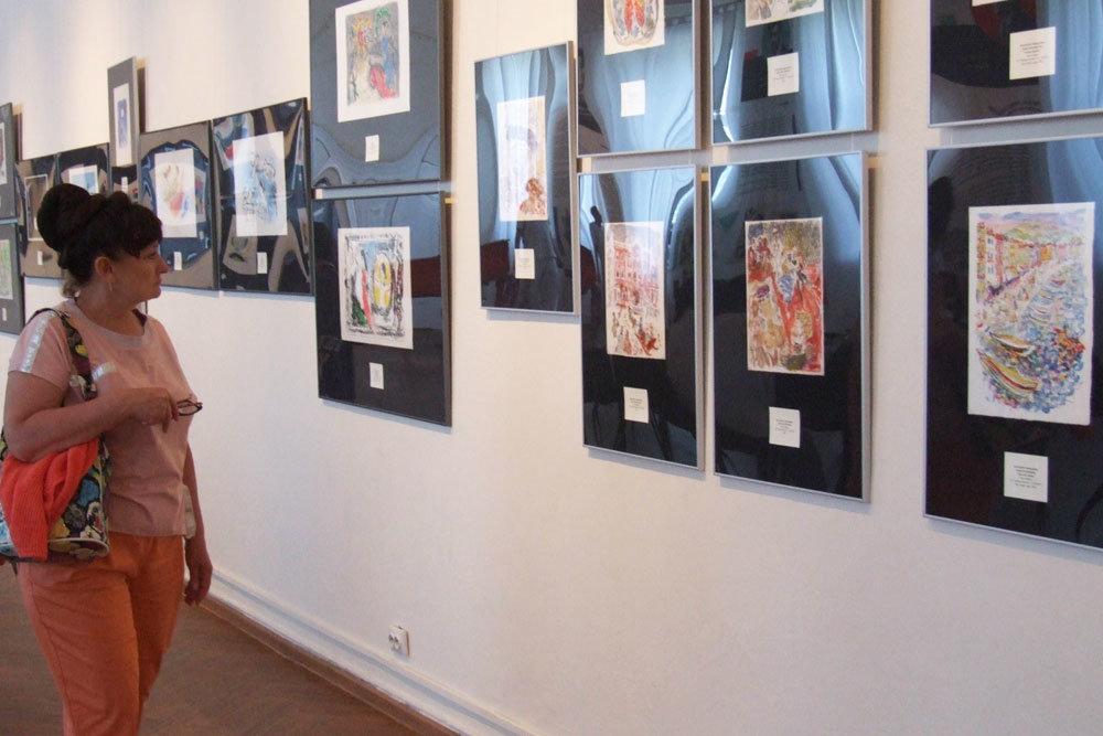 В Омске открылась выставка русских художников-эмигрантов