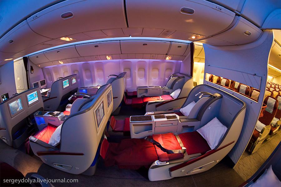 11132 Бахрейнский авиасалон: Интерьеры самолетов