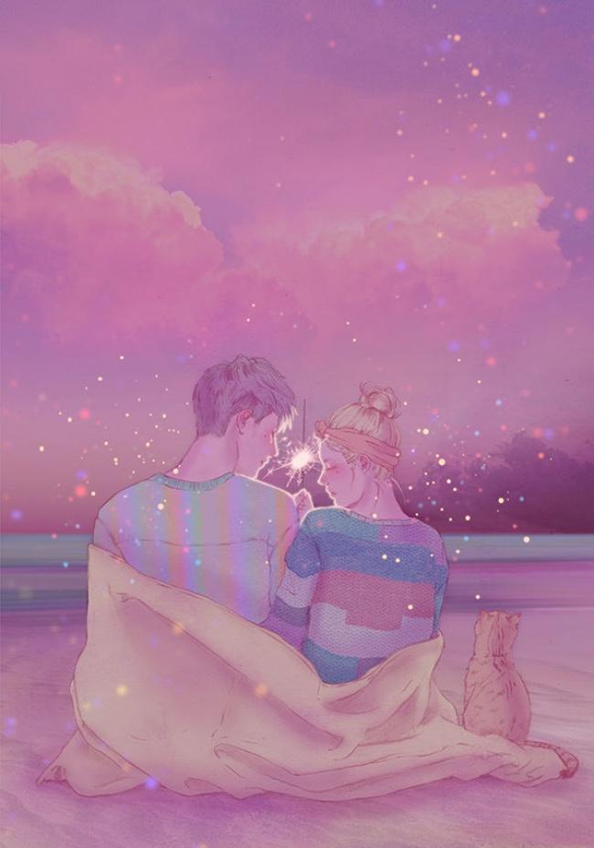 Эти 16 иллюстраций покажут самую красивую сторону любви