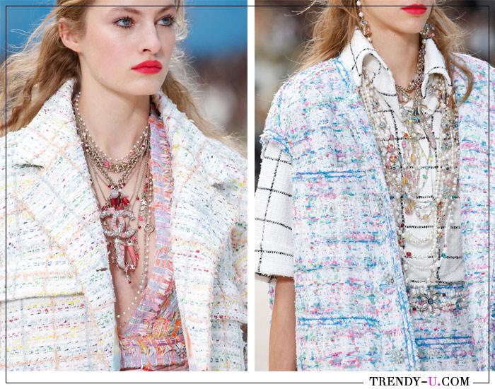 Модные украшения из коллекции Chanel SS 2019