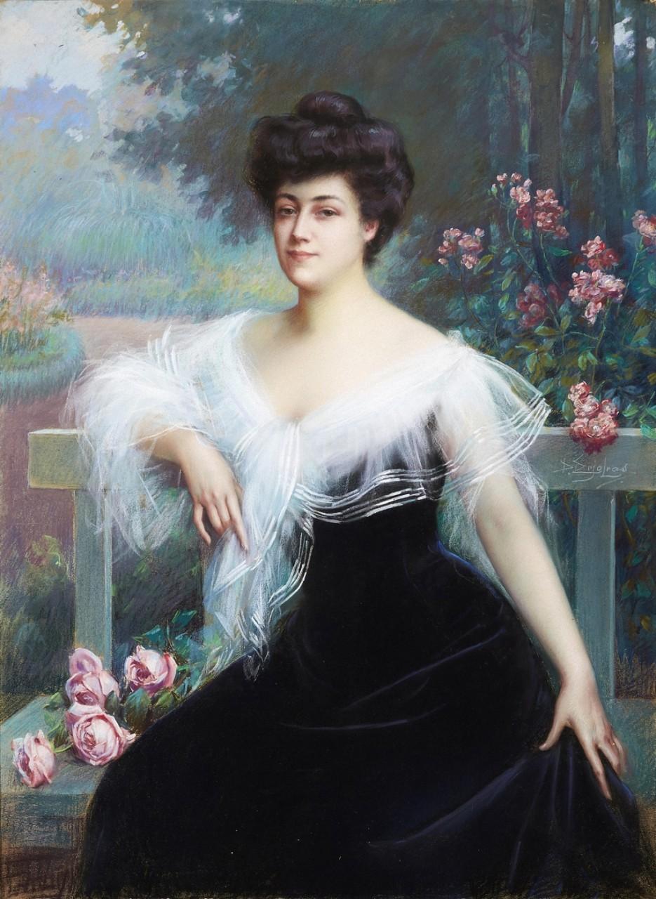 ДЕЛЬФИН АНЖОЛЬРА (DELPHIN ENJOLRAS; 1857-1945) | ЧАСТЬ 3