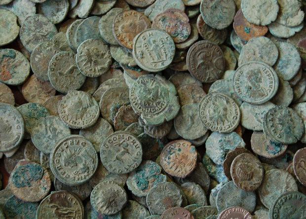 В Испании нашли 600 килограммов римских монет