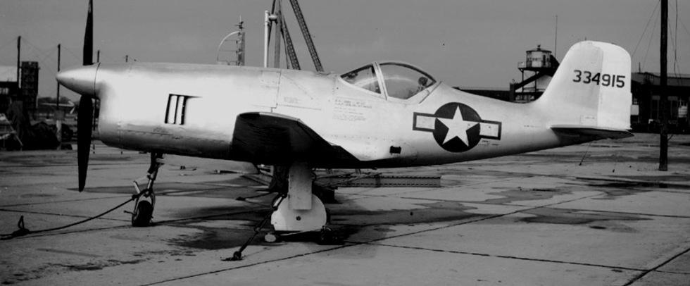 Крошка «Белл»: лёгкий истребитель ХР-77