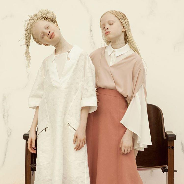 Сёстры-альбиноски