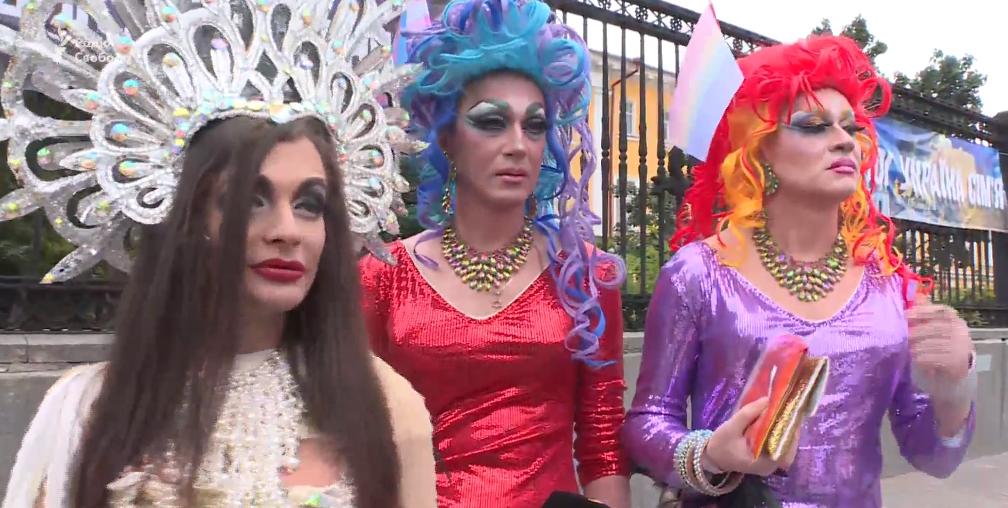 Парад содомитов в Киеве прод…