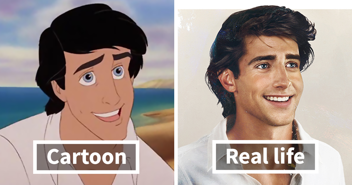 Artist Shows How Disney Princes Would Look In Real Life, And The Result Is Amazing