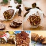 Шоколадная колбаска (подборка)