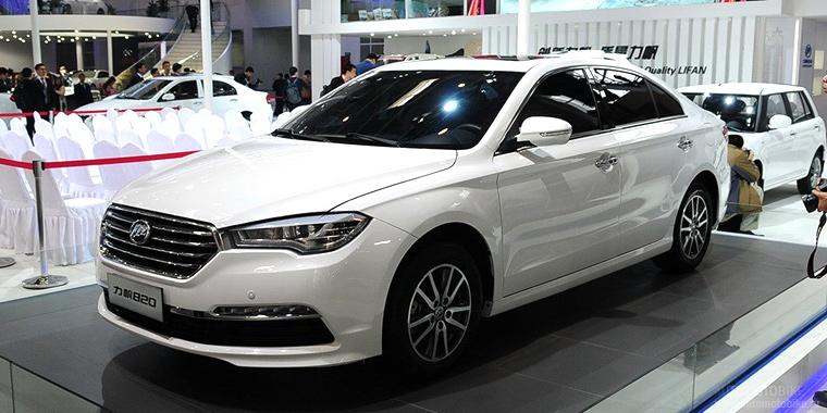 Lifan назвал цены на конкурента Toyota Camry в России