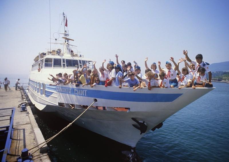 Корабль названый в честь Саманты Смит мир, письмо, посол, саманта смит