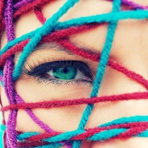 Как выпрямить нитки для вязания