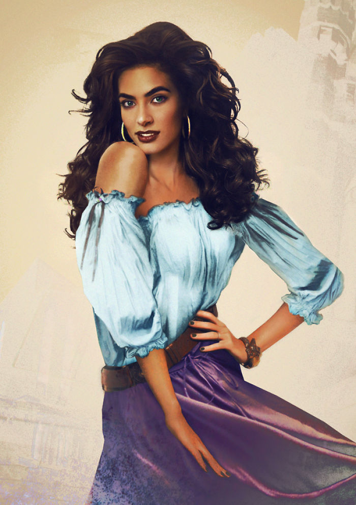 Esmeralda From The Hunchback On Notre Dame