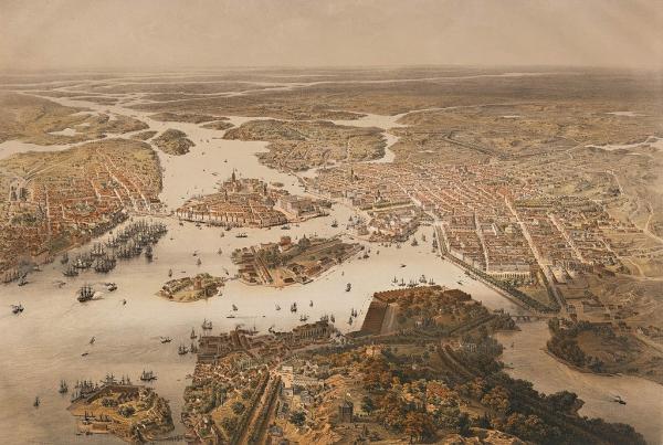 Вся Швеция 17-го века говорила по-русски
