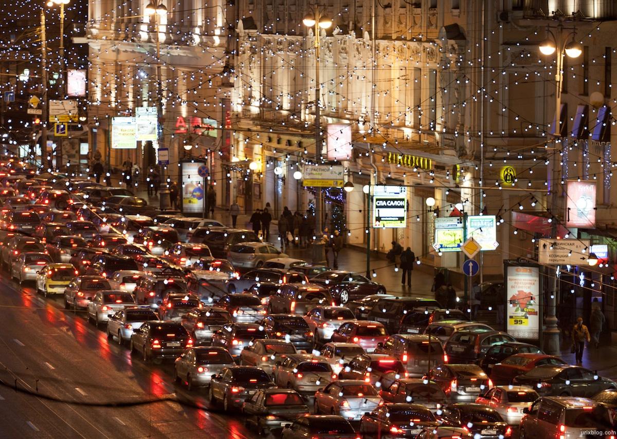 К концу года в Москве снизится количество пробок