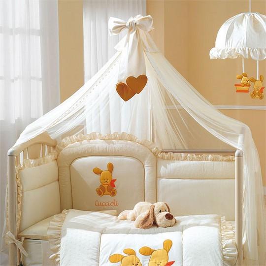 Балдахины на кроватку детскую своими руками