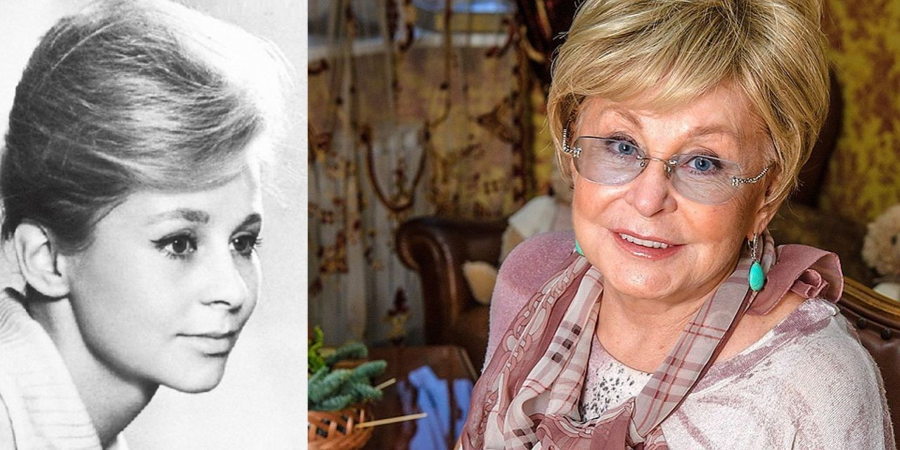 Ангелина Вовк (74 года) люди, телеведущие, телевизор, тогда и сейчас