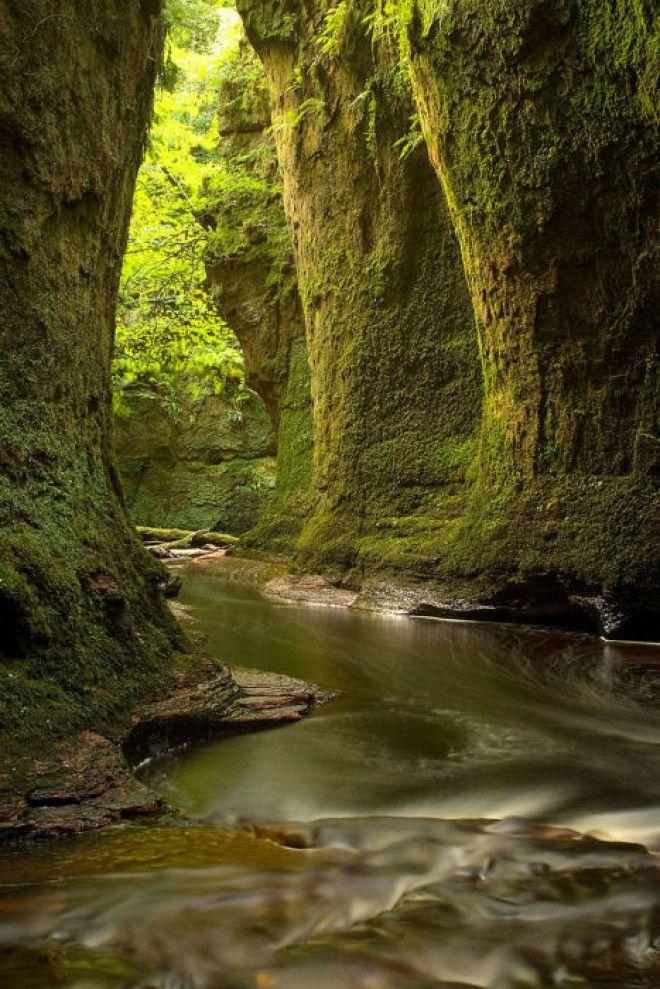 Великолепие красоты Шотландии