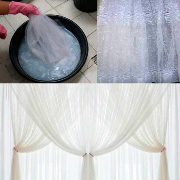 Как правильно стирать тюль и другие нежные ткани