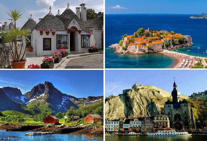 И даже в Европе можно найти прекрасные и тихие места для путешествия и отдыха.