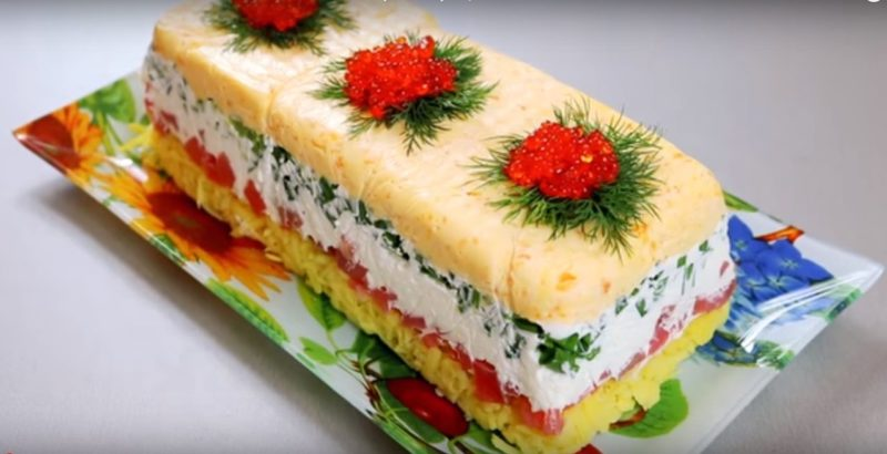 Такого салата вы еще не готовили – Уникальный салат «Русский сувенир»