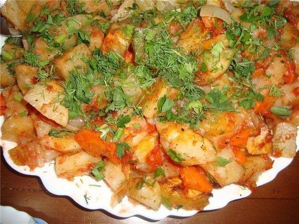 Готовьте картошку только так — наивкуснейшая картошка в духовке