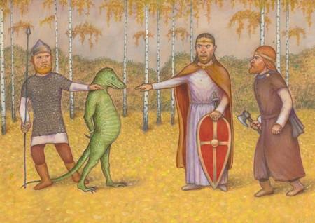 Древние предания о рептилоидах и их роли в истории человечества.